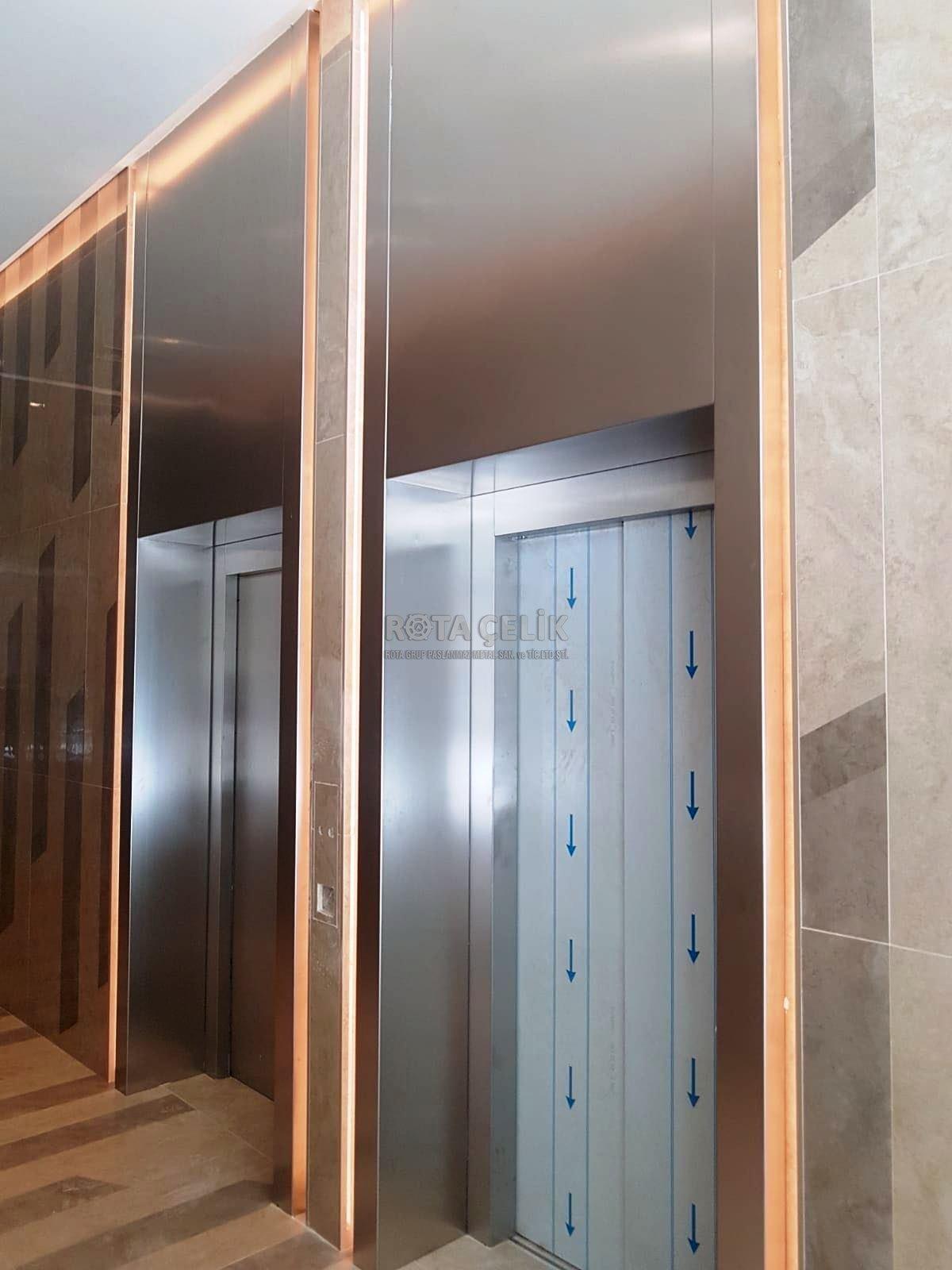 Paslanmaz asansör söveleri