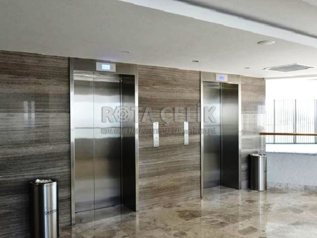 Stainless Elevator Jamb